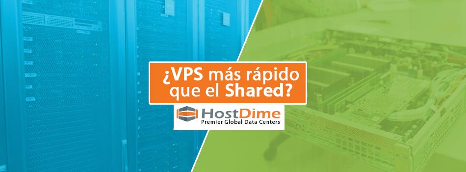 ¿Es el VPS más Rápido que el Web Hosting Compartido?