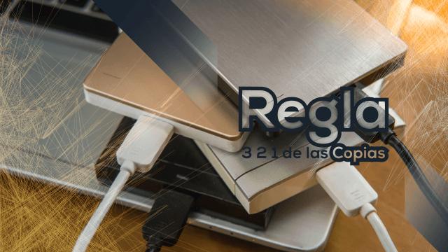 La regla 1-2-3 de las copias de seguridad