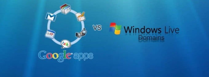 Google Apps Vs Windows Live