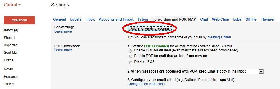 importar correos y contactos