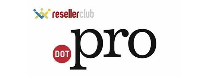 ResellerClub excede 11.000 registros de dominios .PRO