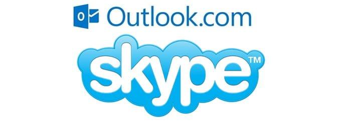 Skype  conecta usuarios Outlook