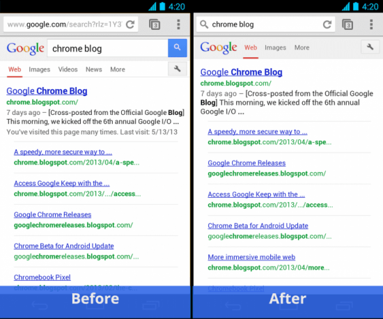Chrome for Android Simpler Search 730x608 e1369322328938