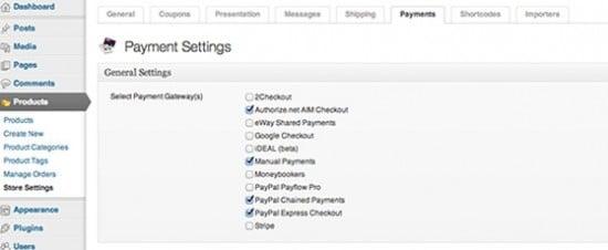 Comercio electrónico para WordPress