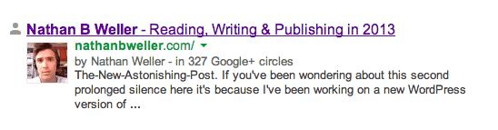 nathanbweller GoogleSearch Rich Snippet