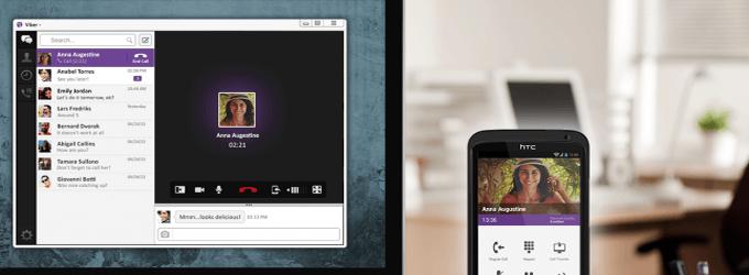 Viber rival de Skype con video llamadas en el nuevo Mac y Windows