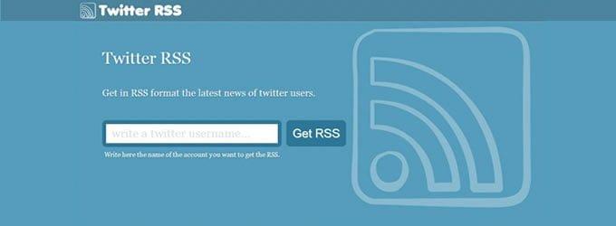 Cómo Obtener RSS Feeds De Twitter Con La Nueva API