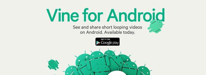 Vine se estrena en Android