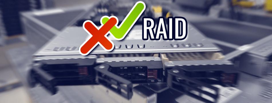 Beneficios y desventajas del RAID