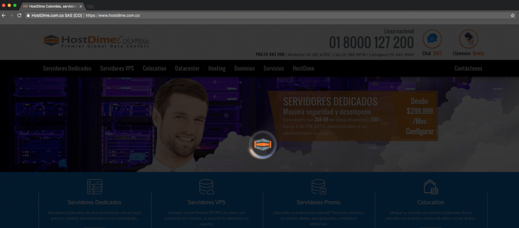 Carga rapida sitios web
