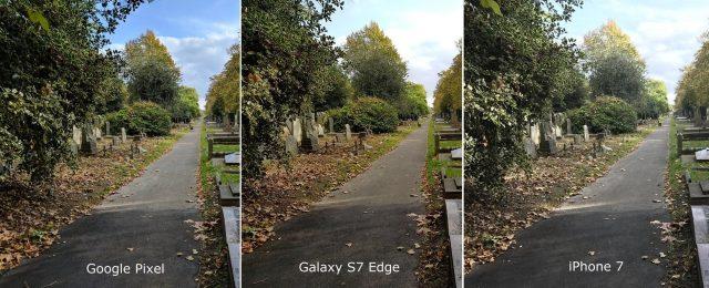 Comparativo camara pixel Samsung y iPhone