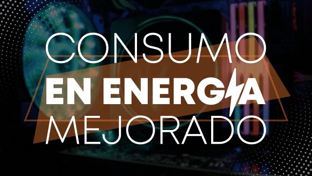 Consumo de energía mejorado