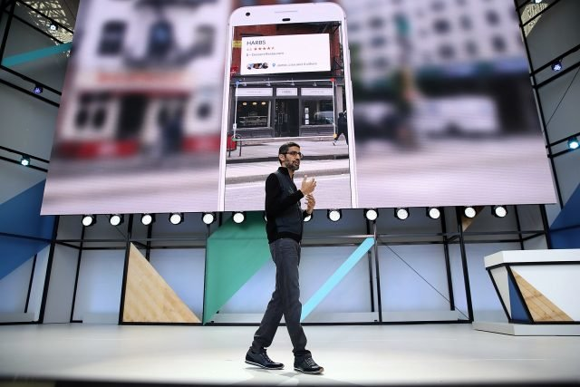 Google Lens Sundar Pichai