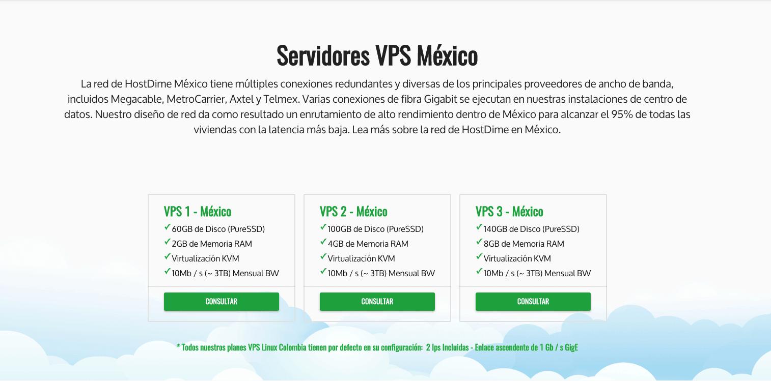 HostDime-MEX-VPS