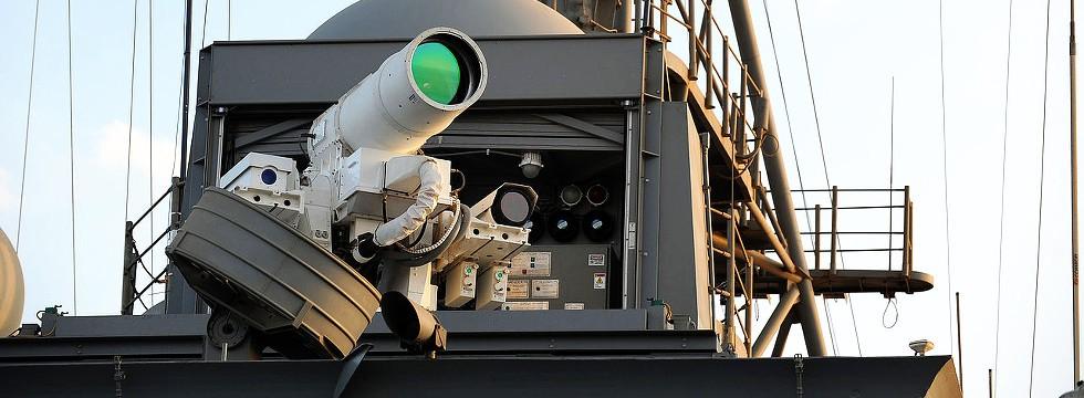 Potente Láser De La Marina De USA Es Manipulado Con Un Control De Videojuegos
