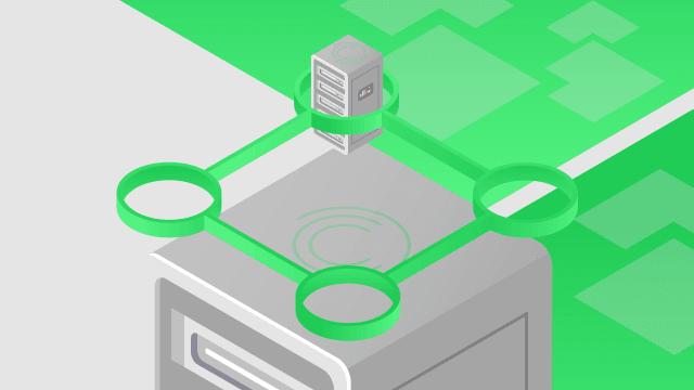 Red de centros de datos internos