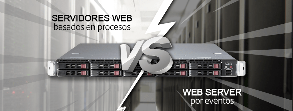 Servidores web basados en procesos vs web server por eventos