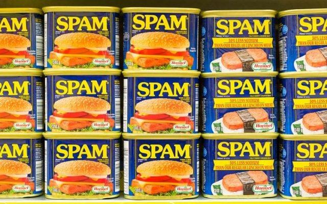 Spam, de dónde proviene el termino, HostDime