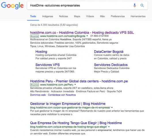Truco 2 búsquedas en Google