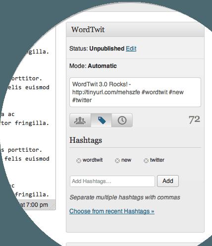 WordTwit plugin wordpress
