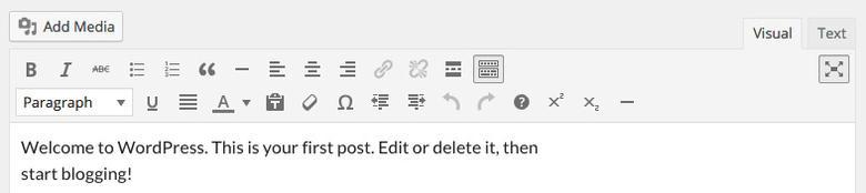 añadir botones editor wordpress