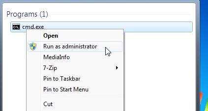 abrir cmd en windows 7