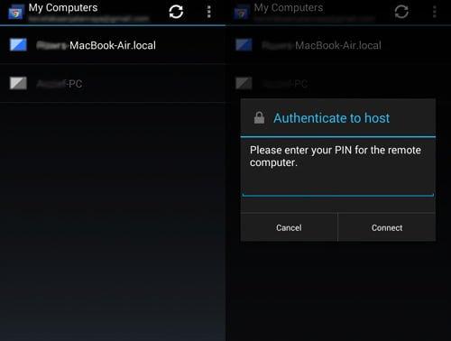 acceso remoto chrome remote desktop android