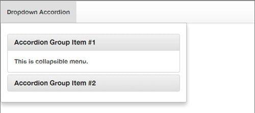 accordion menu demo yamm3