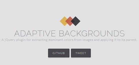 adaptivebackgrounds plugin jquery