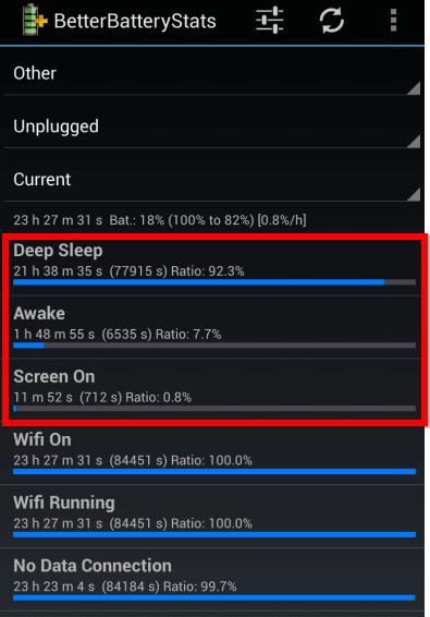android better-battery registros