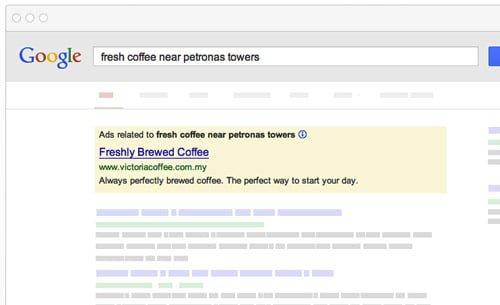 anuncios buscador google