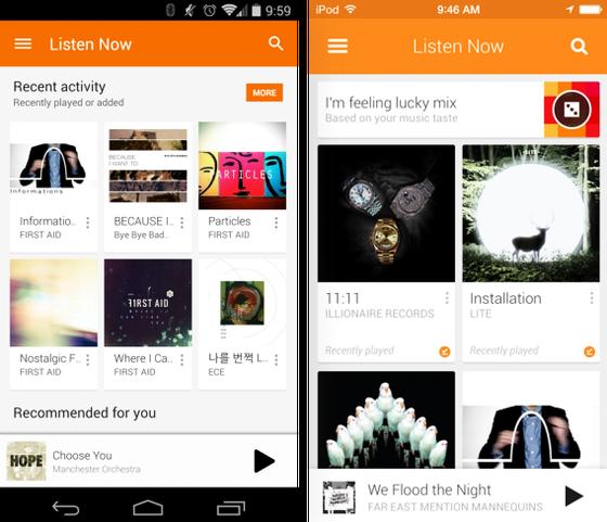 aplicacion android google play music