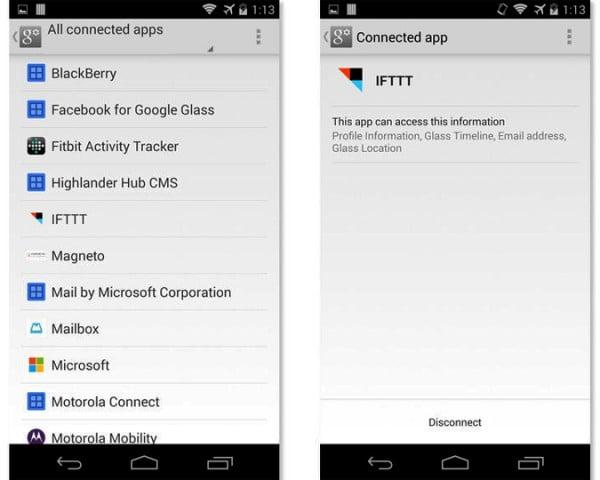 aplicaciones conectadas app configuracion google