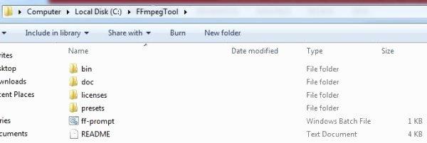 archivo ffmpeg en windows