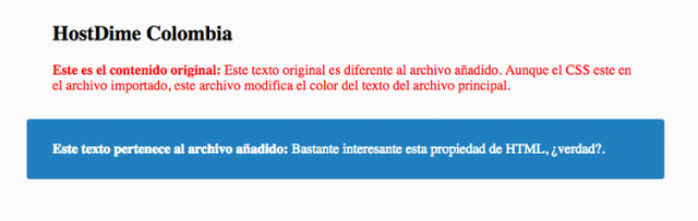 archivo html importado en otro html