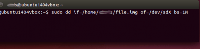 archivo img en usb o sd en linux