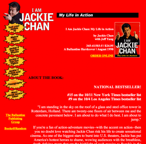 biografia de jackie chan