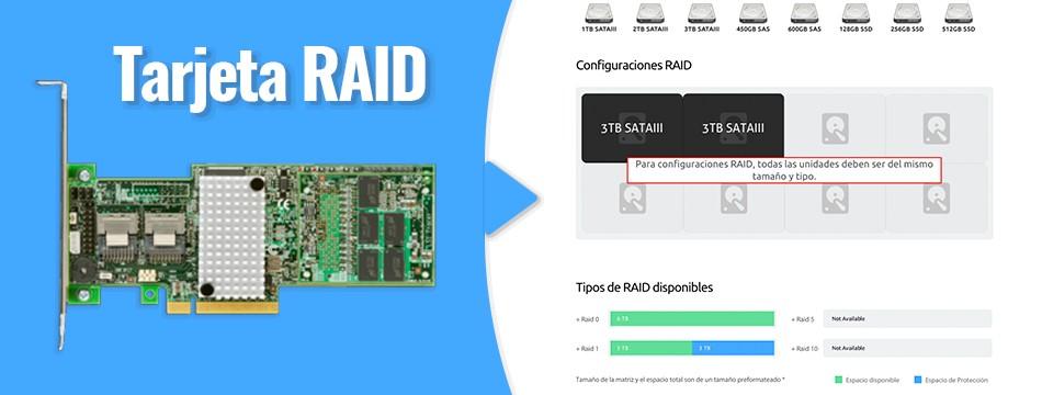 Conoce más de la tecnología RAID