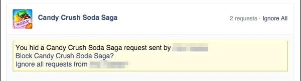 bloquear aplicacion juego facebook