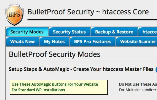 bulletproof security plugin wordpress