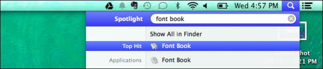 buscando tipografias desde mac os x