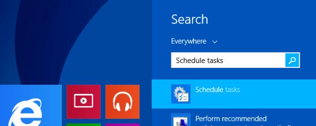 buscar programador de tareas en windows