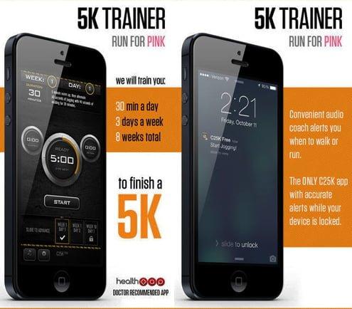 c25k aplicacion para correr iphone