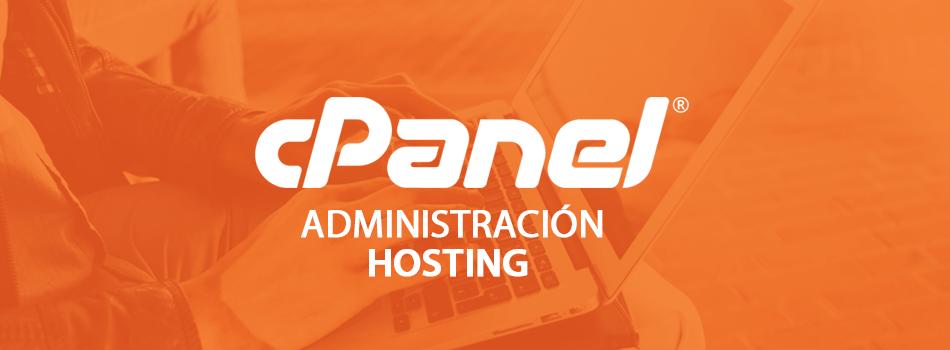 cPanel en la administración Hosting