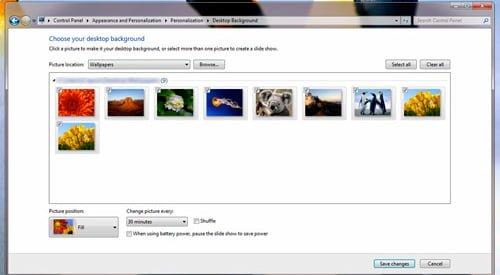 cambiar fondo de pantalla remotamente