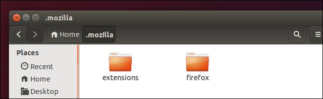 carpeta de configuracion aplicacion ubuntu