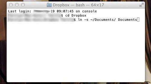 carpeta dropbox por defecto