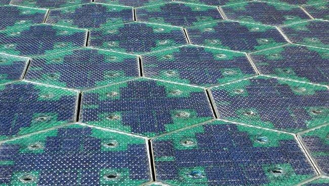 carreteras solares panel solar energia