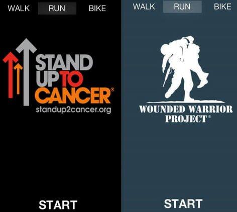 charityrun aplicacion running iphone