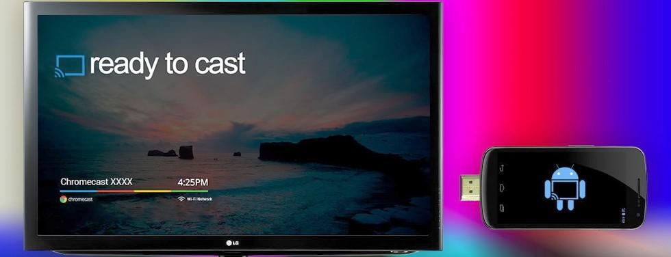 Google Permite Mostrar El Contenido Del SmartPhone Y Tablet En Un TV Con ChromeCast